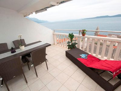 Photo for Holiday apartment Pisak for 2 - 5 persons with 2 bedrooms - Holiday apartment in a villa