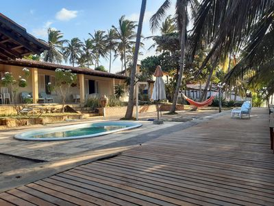 Photo for House in Praia do Coqueiro, facing the sea, close to the best tents.
