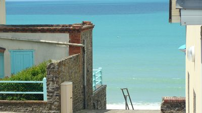 Photo for Charm, pleasure and relaxation sea view, with 3 beautiful comfortable rooms