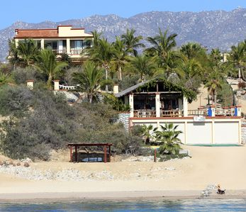 Photo for Pelican Reef - 4 Bedroom Beachfront Villa in La Ventana.
