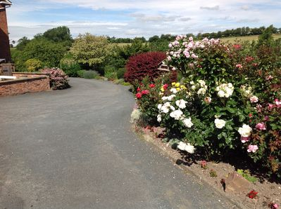driveway to the Old Coach House