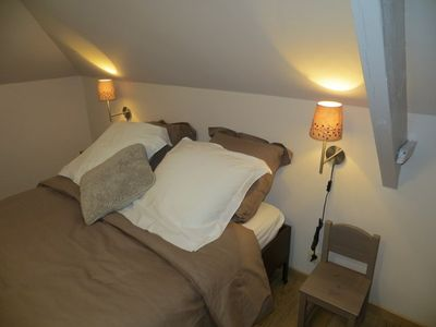 Photo for Cozy nest, lodging 3 ears, air conditioning, in the historic center of Tournai.
