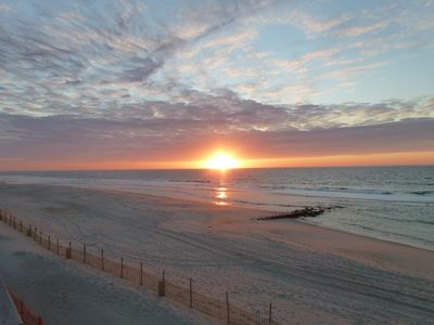 What a great way to start your day ... sunrise over the Atlantic!