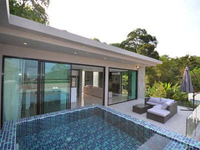 Photo for Two Bedroom Villa (sleeps 4) with small private pool