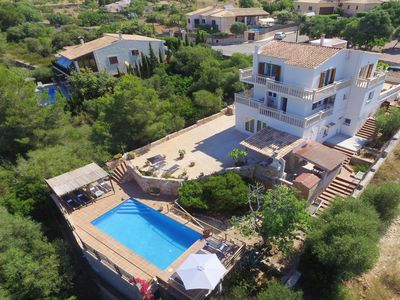 Photo for Beautiful holiday home in the south of Majorca with private pool