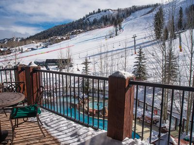 Photo for Aspen Highlands, Ritz, Ski In/Out Condo located on the ski slope