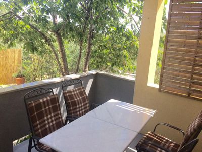 Photo for Two bedroom apartment with terrace Seline, Paklenica (A-12460-a)