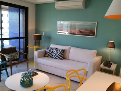 Photo for Beautiful apartment, all refurbished, brand new, with all utensils, full