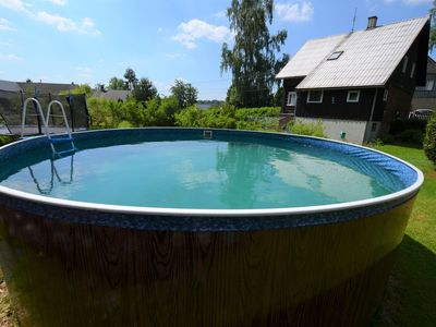 Photo for Detached holiday home with garden pool and large, fenced garden