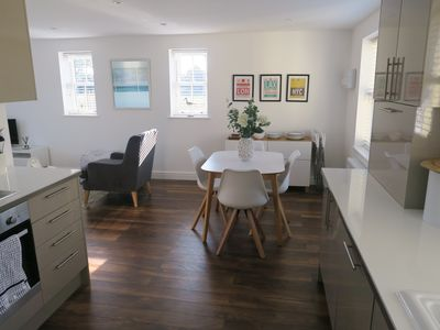 Photo for A contemporary, beautifully furnished apartment on the North Norfolk Coast