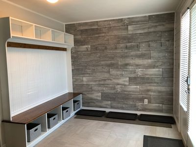 Entryway with lots of storage