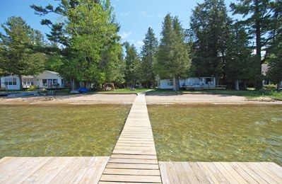 Photo for Charming Cottage w/50 ft of Big Glen Lake frontage; 2BR/1BA, acc: 6