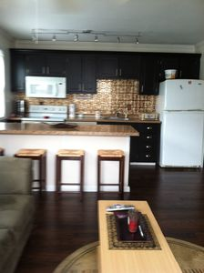 Photo for Really nice and spacious beach retreat.  Just steps to the beach at 14, 139th st