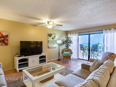 Photo for Free Perks Included!!! Perfect Location!!!!! ***Reef Club #405 Gulf Front Condo***