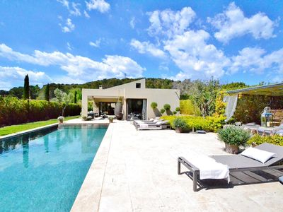 Photo for Superb contemporary villa in Mougins with swimming pool !