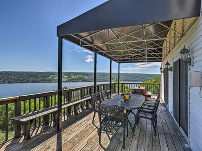 Photo for NEW! Lovely Finger Lakes Home w/Lake Views & Deck!