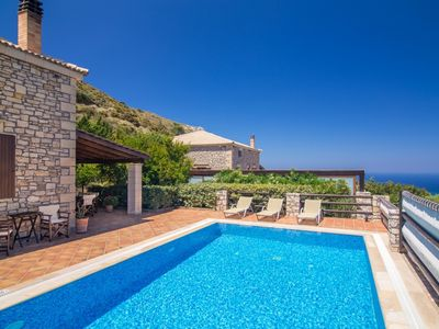 Photo for Villa Melinda - Stunning Stone Built Villa with Excellent Facilities near Falassarna Beach ! - Free WiFi