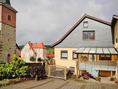 Photo for Holiday flat, Kaltenwestheim  in Thüringer Wald - 2 persons, 1 bedroom