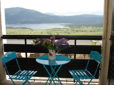 Photo for Apartment in Les Angles with amazing view of Maternale lake