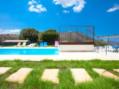 Photo for Villa CASANOVA **** Heated Pool - Beach - Natural Pools in the River!