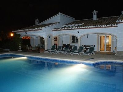 Photo for 5 bed luxury villa with large pool & gardens great location. Wheechair friendly