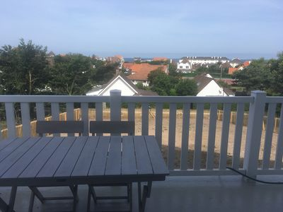 Photo for 4 people sea view apartment in Wissant with balcony