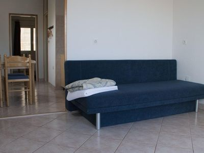 Photo for One bedroom apartment with balcony and sea view Lumbarda (Korčula)
