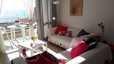 Photo for OFFERS - LUMINOUS AND COZY APARTMENT WITH SEA VIEWS