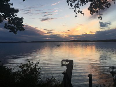 Another perfect sunset at the Cottage!