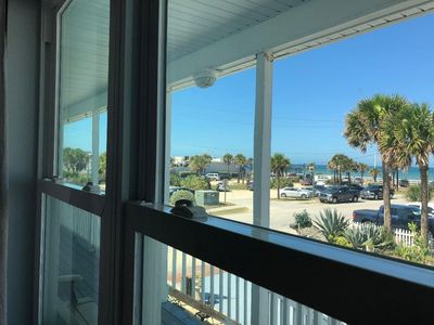 Photo for Beautiful beachside retreat, steps from the ocean Apt. A