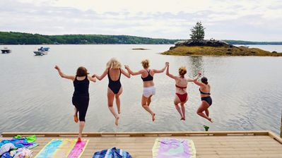 So much fun to be had on the dock