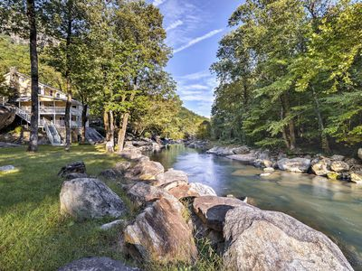 Photo for Broad River Home w/ Mtn Views - Walk to Village!