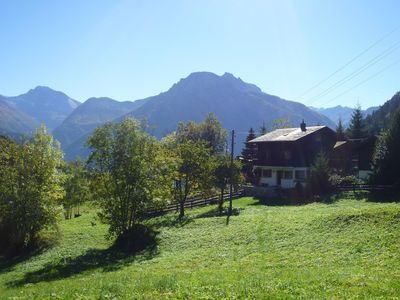 Photo for Chalet Kelchbach: Holidays in the Valais mountains (Blatten-Belalp region)