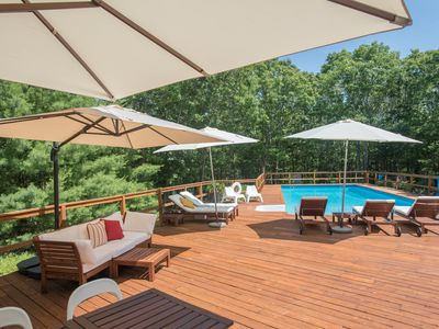 Photo for Beautiful, modern and stylish 3 bed 3 bath home in East Hampton, set in 4 acres