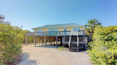 """Photo for Ready To Rent Now! FREE BEACH GEAR! Plantation, Beach View, Screen Porch, Wi-Fi, 3BR/2BA """"Key Lime Time"""""""