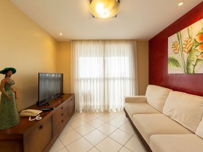 Photo for Apartment with 2 bedrooms in Ponta Negra view to the sea