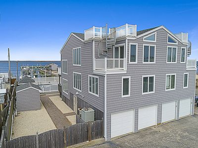 Photo for Beautiful Bay Front 3 Bedroom Town-home With Pool & 180 Bay Views