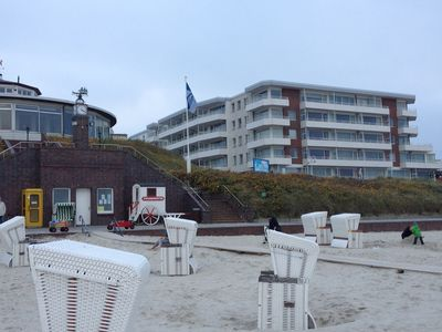 Photo for Modern apartment for up to 2 P. directly on the beach of Wangerooge