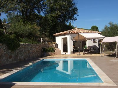 Photo for MAGNIFICENT VILLA OF STANDING, POOL, IN QUIET ON THE HEIGHTS OF DRAGUIGNAN