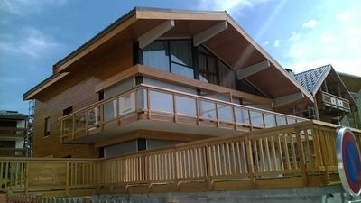 Photo for 3 rooms + cabin 70m2 duplex - South facing in the heart of Alpe d'Huez