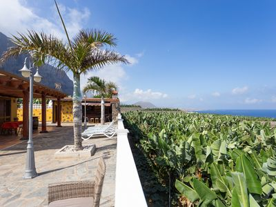 Photo for Stunning house with sea views, surrounded by banana trees in Garachico