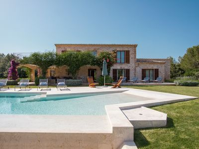 Photo for Pollenca Villa, Sleeps 12 with Pool, Air Con and WiFi