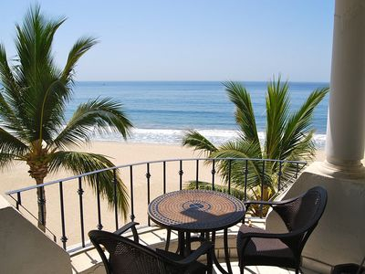 Photo for 2 BR Corner Unit with Direct View of the Beach and Ocean - Free Wifi