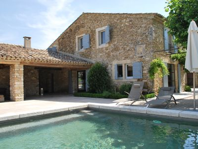 Photo for Mas Leone , exclusive property in Provence, heated pool, 6 bedrooms