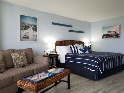 Photo for JULY Specials. Newly Renovated Studio In Resort Beach Front Property
