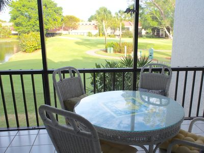 Photo for Beautiful End Unit on the Golf Course and Next to the Pool