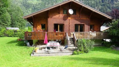 Photo for Charming family cottage just minutes from Chamonix and the slopes