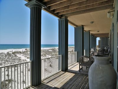 Photo for Avail Memorial Wkd Beach Front Luxury Home~Hi-Speed Gaming Wifi~ Bluetooth System ~ Blue Atlantis
