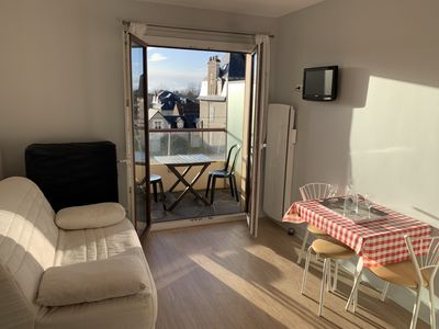 Photo for Studio waterfront Cabourg, garden view