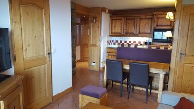 Photo for La Plagne 2000, 3 rooms, 6 people, pool + SPA